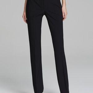 Elie Tahari Black Wool Pants